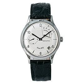 Zenith Elite 01.1125. Steel 37mm Watch (Certified Authentic & Warranty)