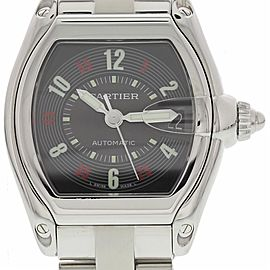 Cartier Roadster 2510 Steel Watch (Certified Authentic & Warranty)