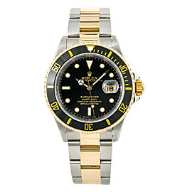 Rolex Submariner 16613 Steel 40mm Watch (Certified Authentic & Warranty)