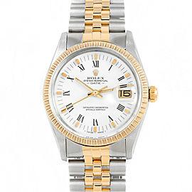 Rolex Date 15053 Steel 34mm Watch (Certified Authentic & Warranty)
