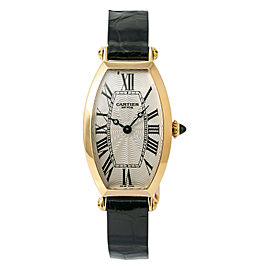 Cartier Tonneau 2667 Gold 22mm Womens Watch