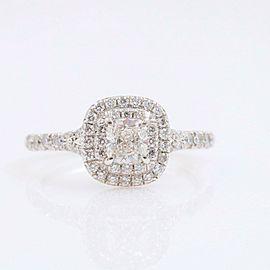 Tiffany & Co. Soleste Round Diamond 0.64 tcw Engagement Ring in Platinum