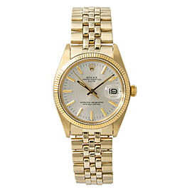 Rolex Date 1503 Gold 34mm Watch