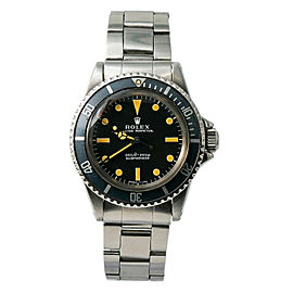 Rolex Submariner 5513 Steel 40mm Watch