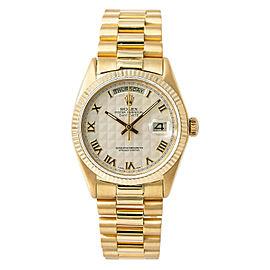 Rolex Day-date 18038 Gold 36mm Watch