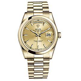 Rolex Day-date 118208 Gold 36mm Watch