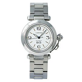 Cartier Pasha W31044M7 Steel 35mm Women Watch