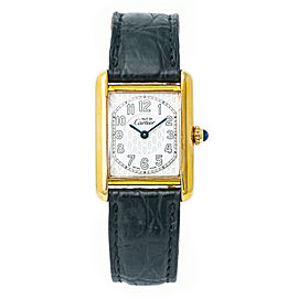 Cartier Must 21 2415 Silver 22mm Womens Watch