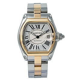 Cartier Roadster W62031Y4 Steel 37mm Watch