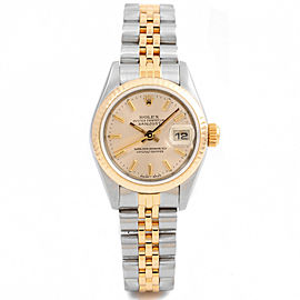 Rolex Datejust 69173 Steel 26mm Women Watch
