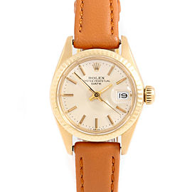 Rolex 6917 Gold 26mm Women Watch