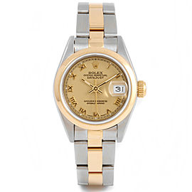 Rolex Datejust 69163 Steel 26mm Women Watch