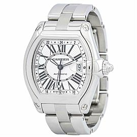 Cartier Roadster W62032X6 Steel 43.0mm Watch