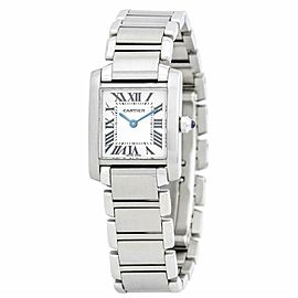 Cartier Tank Francaise 2302 Steel 28.0mm Watch