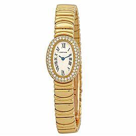 Cartier Bagnoire 2368 Gold 1825.0mm Womens Watch