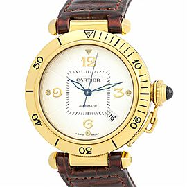 Cartier Pasha 2392 Gold 38.0mm Watch