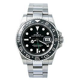 Rolex Gmt Master Ii 116710LN Steel 40mm Watch