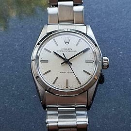 Rolex Men's Midsize Oyster Speedking 6431 Hand-Wind, c.1968 Swiss Vintage LV752