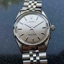 Rolex Men's Oyster Perpetual ref.1002 Automatic, c.1969 Swiss Vintage SIW169