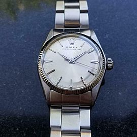Rolex Midsize Oyster Perpetual 6551 Automatic, c.1963 Swiss Vintage 6 inch LV819