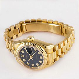 Rolex Datejust 179178 Gold 26mm Womens Watch