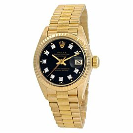 Rolex Datejust 6917 Gold 26.0mm Women Watch