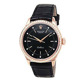 Rolex Cellini 50705 Gold 39mm Watch