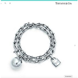 Tiffany & Co. HardWear Wrap 19mm Sterling Silver Bracelet Medium Lady Gaga