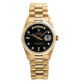 Rolex Day-date 18238 Gold 36mm Watch