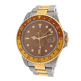 Rolex Gmt Master Ii 16713 Two Tone 40mm Watch
