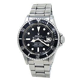 Rolex Submariner 1680 Steel 40mm Watch
