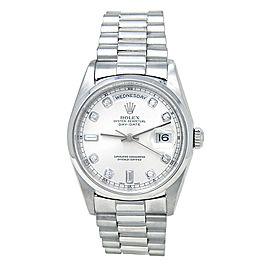 Rolex Day-date 18206 Platinum 36mm Watch
