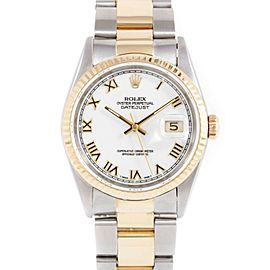Rolex Datejust 16233 Steel 36.00mm Watch
