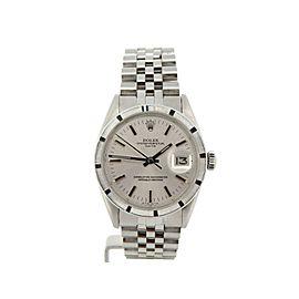Rolex Date 115210 Steel 34mm Watch