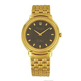 Rolex Cellini 6623 Gold 36mm Watch