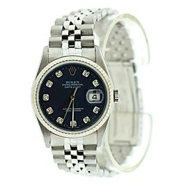 Rolex Datejust 16234 Steel 36mm Watch