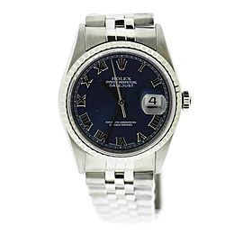 Rolex Datejust 16220 Steel 36mm Watch