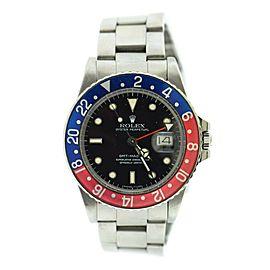 Rolex Gmt Master 16750 Steel Watch