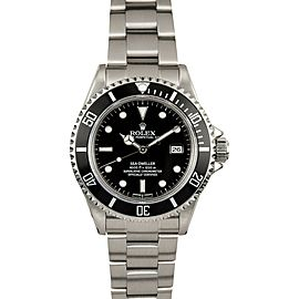 Rolex Sea-dweller 16600 Steel 40mm Watch