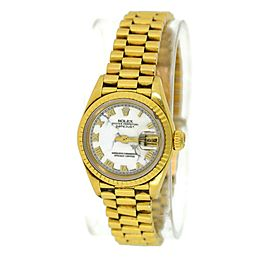 Rolex Day-date 69178 Gold 26mm Womens Watch