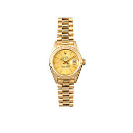 Rolex Datejust 69178 Gold 26mm Womens Watch
