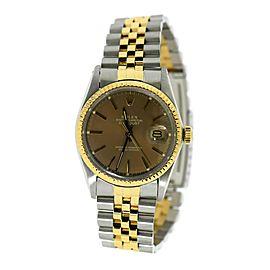 Rolex Datejust 16013 Two Tone 36mm Watch