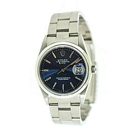 Rolex Date 15200 Steel 34mm Watch