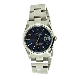 Rolex Date 15200 Steel 34mm Watch
