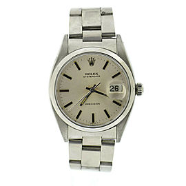 Rolex Precision 6494 Steel 34mm Watch