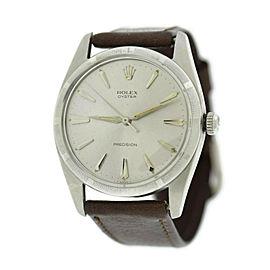 Rolex Precision 6425 Steel 30mm Watch