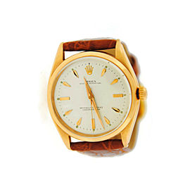 Rolex Oyster Perpetual 6564 Gold 33mm Watch