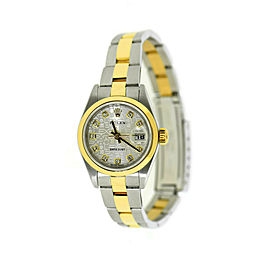 Rolex Datejust 79163 Two Tone 26mm Womens Watch