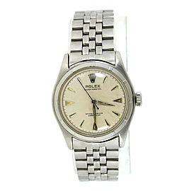 Rolex Oyster Perpetual 6107 Steel 34mm Watch