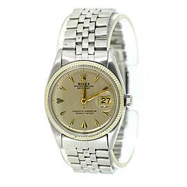 Rolex Datejust 6605 Steel 36mm Watch
